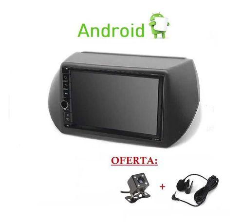 Rádio 2DIN • FIAT Qubo Fiorino CITROEN Nemo PEUGEOT Bipper • Android