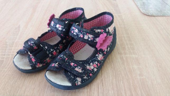 Sandałki dziewczęce ARS roz. 24