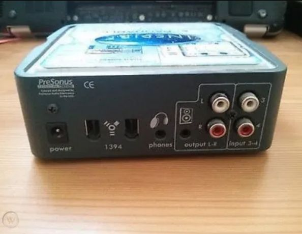Аудио интерфейс PRESONUS INSPIRE 1394