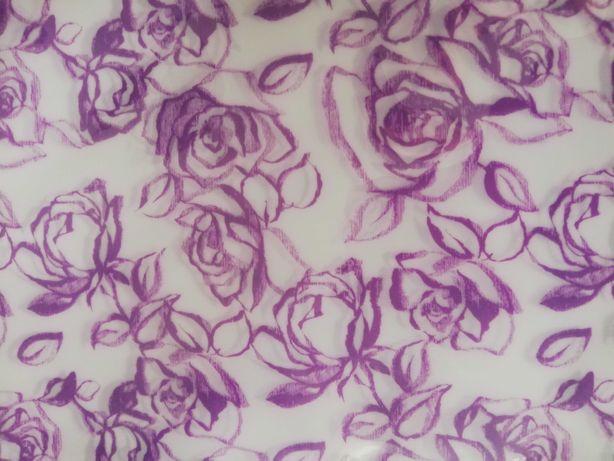 Składany wazon na kwiaty, fioletowe róże