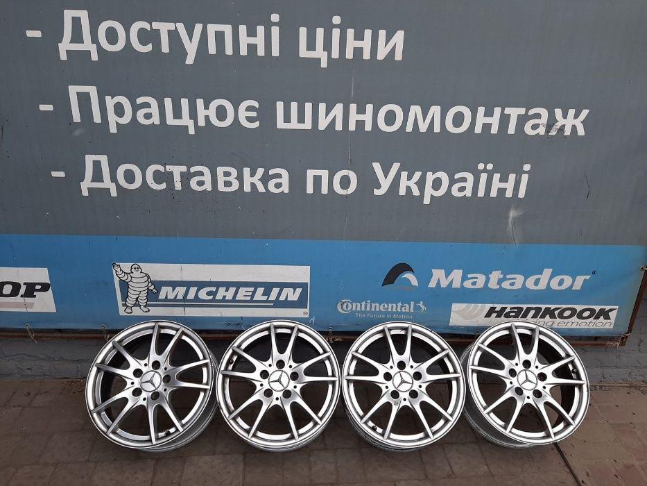 Диски легкосплавні 5*112R16 Мercedes,Skoda,Wolkswagen,Aydi,Seat Львів - зображення 1