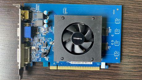 Видеокарта Gigabyte GT 710 1GB GDDR5