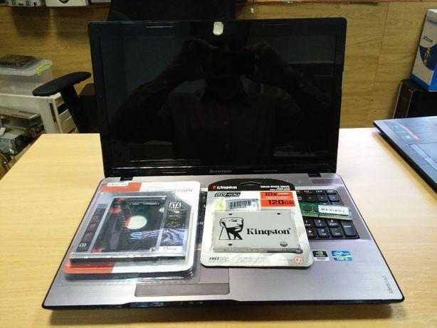 Модернизация ноутбука увеличение ОЗУ, установка ssd накопителя