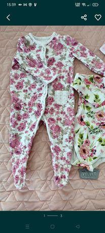 Kombinezon piżamka w stylu newbie 68