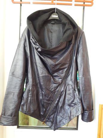 Кожаная демисезонная женская куртка Bezdero,размер L
