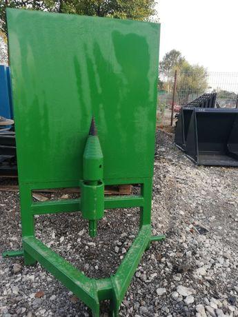 łuparka do drewna klocków świder 100mm lub 120mm do ciągnika doatawa