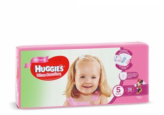 Подгузники Huggies Ultra Comfort Girls 5 размер