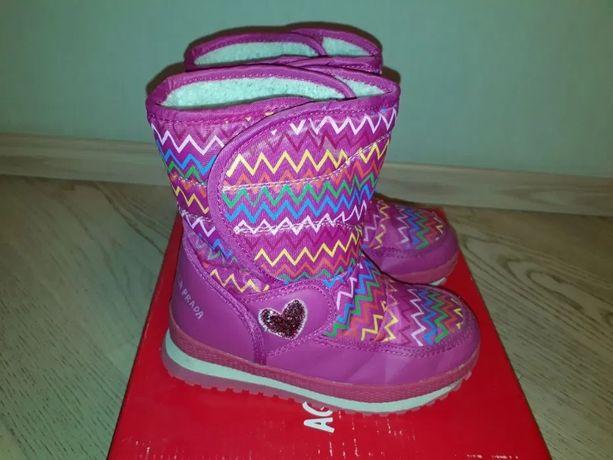 Продам сапоги для девочки Agatha Ruiz De La Prada р.32 -Испания