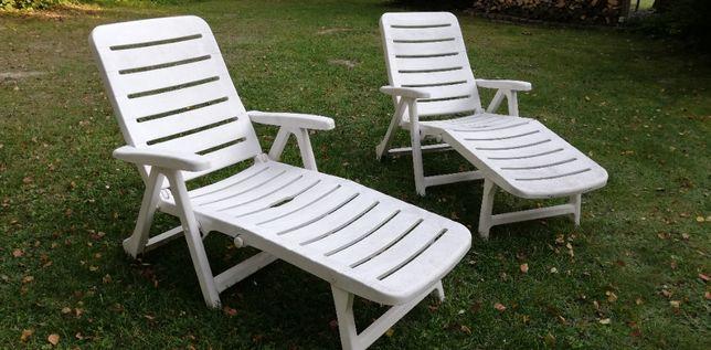 leżak basenowy łózko długie fotel leżanka ogrodowa basen materac