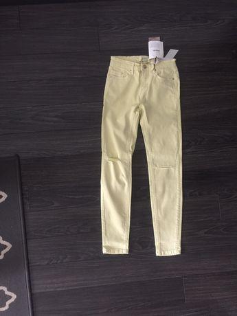 Stradivarius skinny jeans, nowe z metkami, rozmiar 32