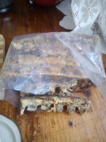 kość karkowa mięso suszone 0,95 kg smakołyk karma dla psa