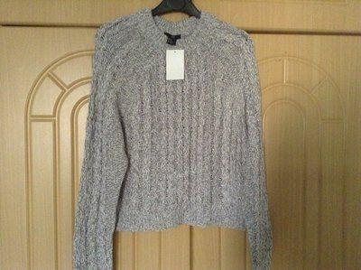 Новый меланжевый свитер H&M размер ХС/С