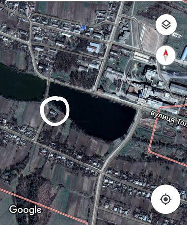 Соколівка, продам будівлю на березі ставка 208 м.кв.