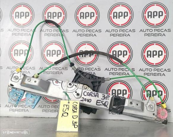 Elevador eléctrico Opel Corsa D 3 portas esquerdo.