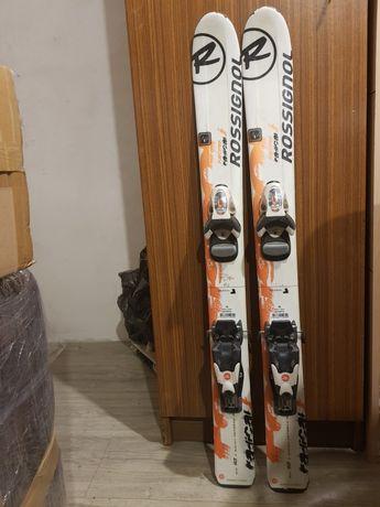 Narty + buty Rossignol 93cm / 90cm