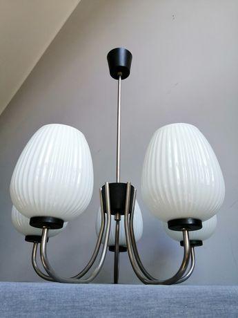 Vintage Lampa Wisząca, Żyrandol, kolekcja lata 60/XXw
