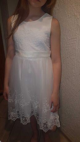 Piękna sukienka komunijna 152