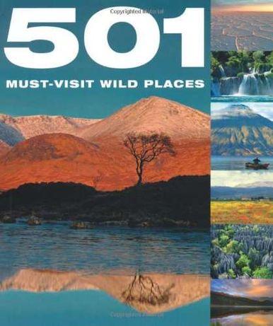 Książka album 501 Must-Visit Wild Places (podróże, zwiedzanie) prezent