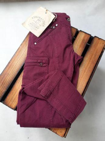 AERONAUTICA MILITARE spodnie fioletowe 36 za 280 zamiast 760 zł