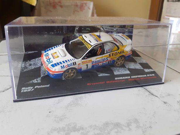 Deagostini Rally Cars, Subaru Impreza 555, Krzysztof Hołowczyc, 1:43.
