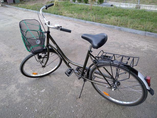 Rower damka koszyk