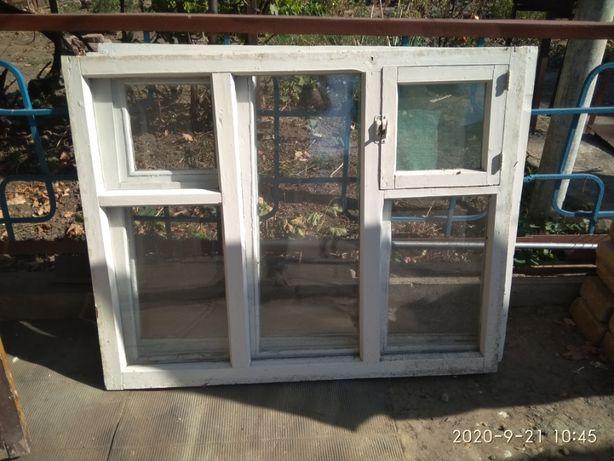 Продам деревянные оконные рамы б/у для дачи, флигеля и.д.