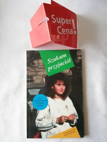 """książka """"szukam przyjaciół"""" Ks Roman Szpakowski BIAŁY KRUK"""