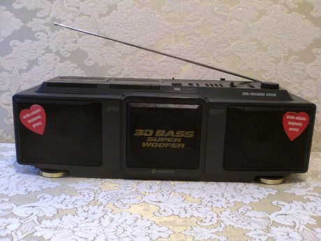 Radiomagnetofon HITACHI TRK-3D50E Sony CFD-S70 Mini wieża dhc-md313