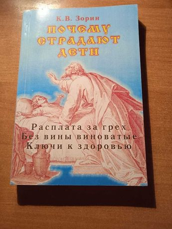 Книга Почему страдают дети Зорин К.В.