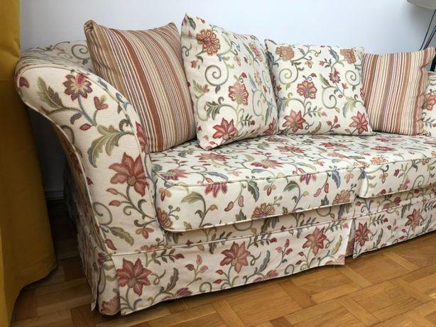 Kanapa sofa w angielskim stylu, wygodna, zadbana