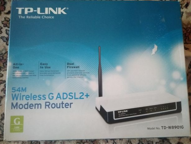 Router TP-LINK TD-W8901G ADSL2+ - zestaw - Neostrada