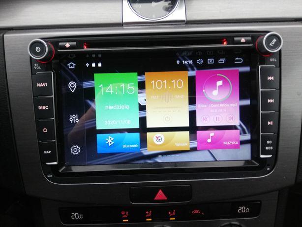 Radio Navi rns 510 Android 9.1 4GB Passat B6 B7 CC