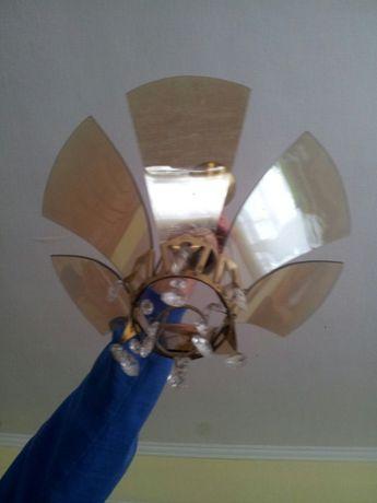 Люстра потолочна світильник на одну лампу