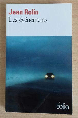 "Książka po FRancusku - ""Les énénements"" Jean Rolin"