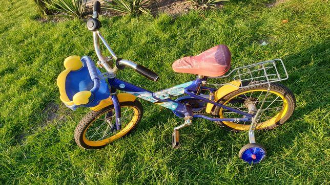 Rowerek dla dziecka 2 i 4 koła