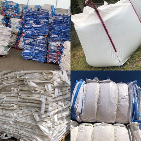 Kontenery elastyczne BIG-BAG bigbagi bigbags uzywane mocne 500 kg