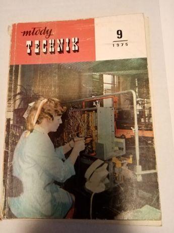 Młody Technik Czasopismo 1975, 1976, 1977, 1980, 1982, 1984, 1988 r.