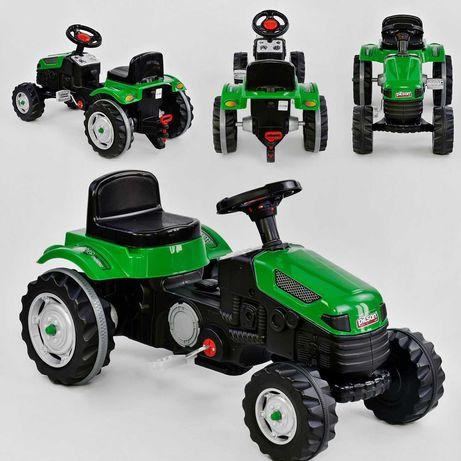 Детский педальный трактор Велотрактор веломобиль Active Traktor