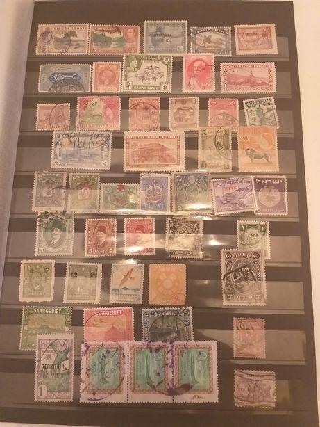Stare znaczki,niektóre kolonialne