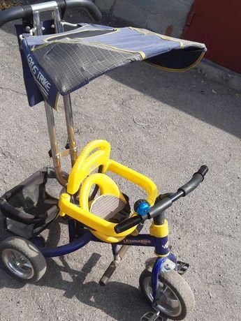 Велосипед с род.ручкой