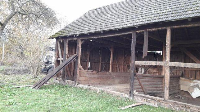 stodoła rozbiórki rozbiórka domów skup starego drewna