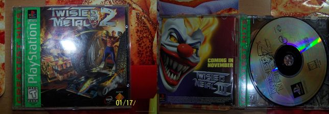 Twisted Metal 2 PSX PS1 PSONE ANTYK