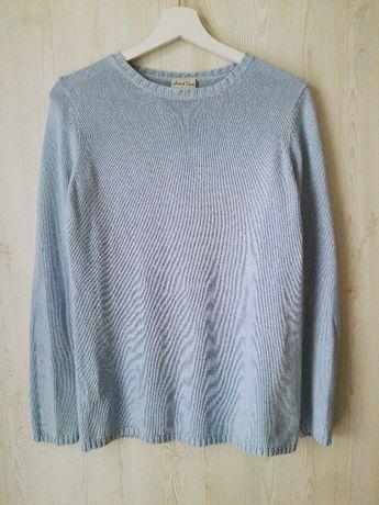 Błękitny sweterek - jak NOWY