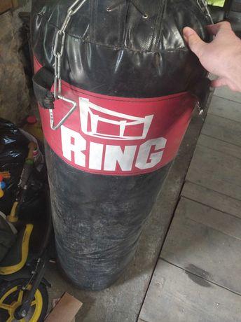 Worek bokserski Ring+rękawice