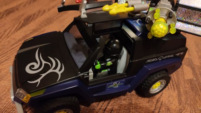 Super pojazd agentów playmobil