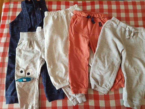 Spodnie dresowe chłopiec 92