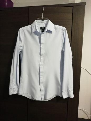 Niebieska koszula r. S H&M