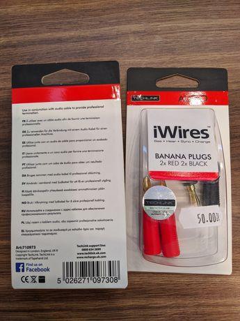 Wtyki głośnikowe iWires Banana Plugs
