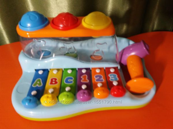 "игрушка Huile Toys ""Ксилофон"""
