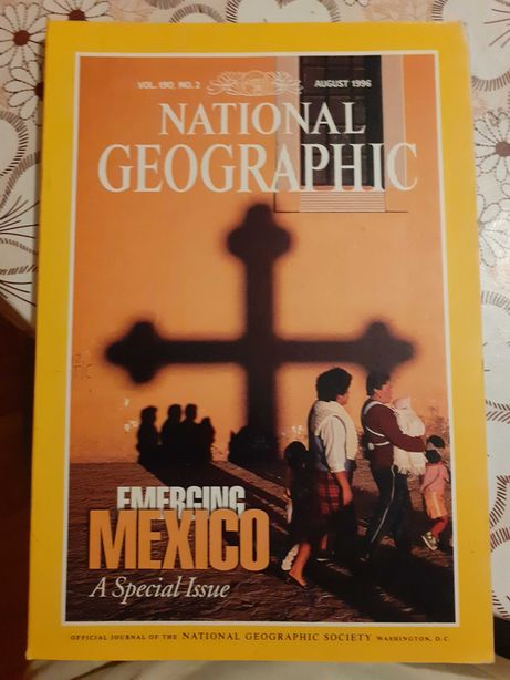 National Geographic august 1996